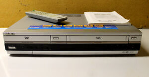Sony Slv-d60p  DVD/VCR combination Mint condition