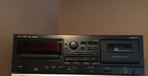 Tascam CD-A500 (CD and Bi-Directional Cassette Player/Recorder)