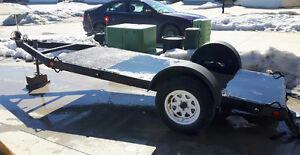 "4 X 16 Flatdeck utility trailer 127"" X 51 SOLD"