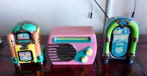 Elvis  Jukebox Ceramic Music Boxes