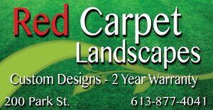 Brockville Landscaping.     Red Carpet Landscapes