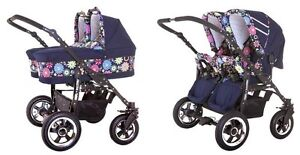 Brand new pram stroller pushchair for twins New fashion sport bug Floreat Cambridge Area Preview
