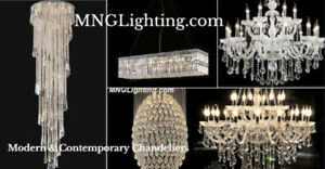 LUMINAIRE ENTREPOT LUSTRE VENTES CRYSTAL CHANDELIERS ON SALE