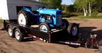 tractor and tandem trailer package