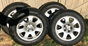 Audi - Winter Tires on Rims!