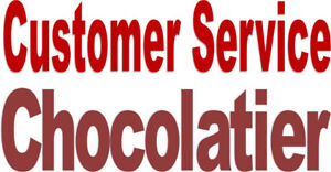 Customer Service / Chocolatier – Full time with training!