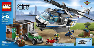LEGO CITY: Helicopter Surveillance #60046