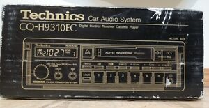 Technics CQ-H9310EC Front Aux In AM / FM / Cass Brand New In Box