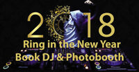 Book the best DJs and/or Photobooth for NYE and Christmas