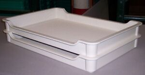 Fiberglass Stacking Trays for Sale