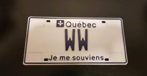 25 Plaque d'immatriculation personalisée ★  Personalized Plate