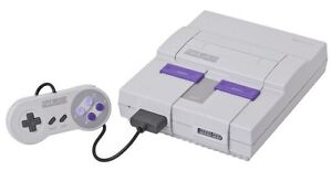 Want: Super Nintendo games and controllers!