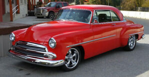 1952 Chevy Belair coupe  LS engine  full leather interior