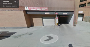 Secure & Gated Downtown Parking Spot (Near UofW & Portage Place)