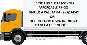 From $66 per hour- Man Truck,Removalists,Cheap Movers in Brisbane
