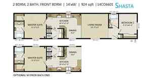 Single or Double wide mobile home Prince George British Columbia image 8