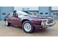 1982 De Tomaso Deauville 5.8 V8 Best Example! One of 7 Series 2 cars in the UK