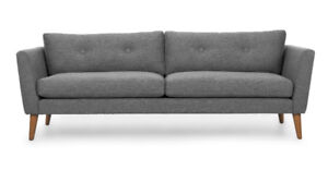 Article Emil Grey Sofa - Like New