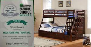 Kids Bunk Bed ** Trundle Beds ** Kids Bedroom Set Starting $199