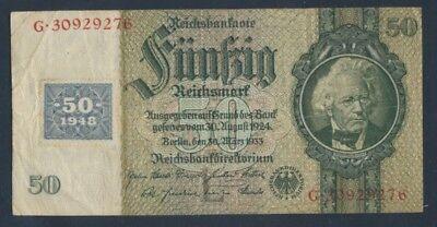 DDR Rosenbg: 337c gebraucht (III) 1948 50 DM auf 50 Reichsmark (9055393