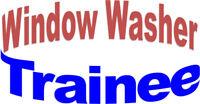 Window Washer Trainee – Full Time work!
