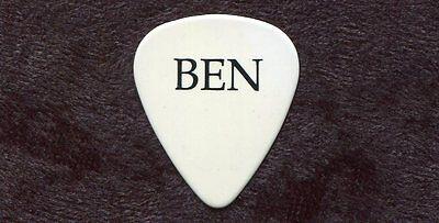 BEN HARPER 2007 Lifeline Tour Guitar Pick!!! Ben's custom concert stage Pick #1