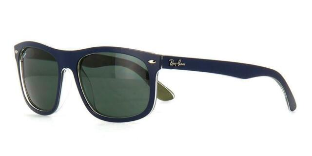 Authentic Ray-Ban Sunglasses RB 4226 6188/71 Matte Blue/Drk Green 56mm