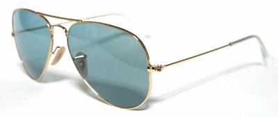 Ray ban 3025 55 3R Aviateur or Sunglasses Polarized Polarisé (Ray Ban Polarized Or Nonpolarized)