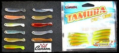 ESCA ARTIFICIALE GOMMA SHAD SILICONICI PESCA SPINNING BASS TROTA ROCK FISHING