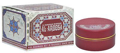 Bukhoor Al Aroosa 60g Bukhoor Home incense by Al Haramain -Saffron, Floral, Musk