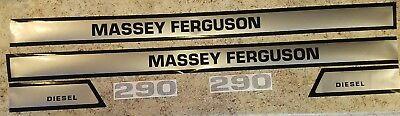 Massey Ferguson Tractor Model 290 Hood Decal Set