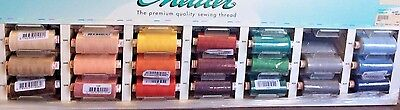 METTLER METROSENE PLUS SEW ALL LARGE SPOOL-1094 YARDS- MANY CHOICES (Mettler Overlock Thread)