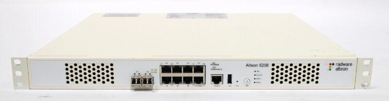 Radware Alteon 5208 Application Delivery Controller / Load Balancer Licensed