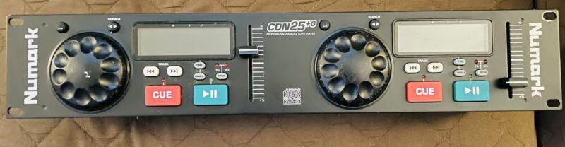 Numark CDN-25 Professional Dual Cd Mixer
