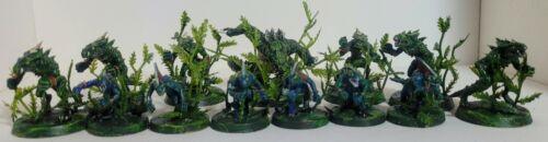 Kitbash Bloodbowl Lizardmen team