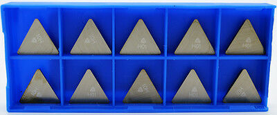 10pcs Tpg-322 H01 Carbide Inserts For Aluminum Non Ferrous Korloy 1-03-003038