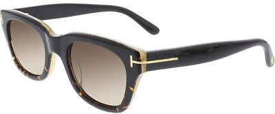 Black Havana Sunglasses - Tom Ford Snowdon FT237 05J Black Havana Honey / Brown Gradient 50mm Sunglasses