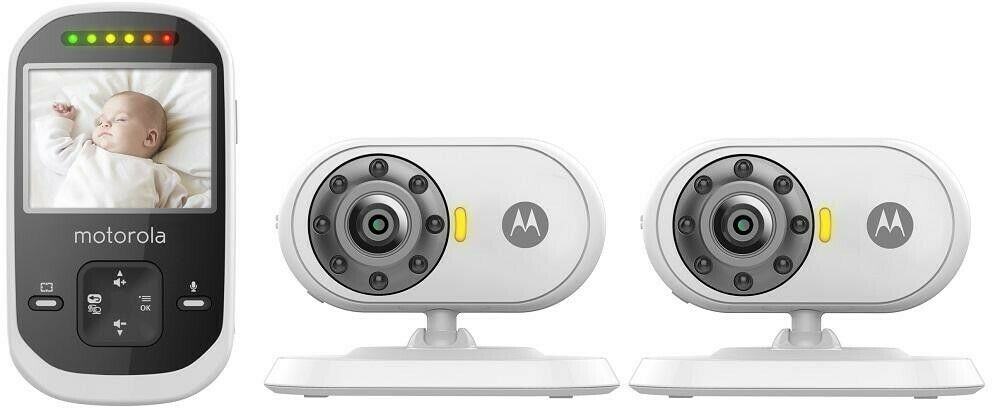 MOTOROLA MBP25-2 2.4 2-Camera 2.4GHz Digital Video Baby Moni