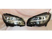 MERCEDES W218 CLS AMG ful LED HEADLIGHTS, COMPLETE, ORIGINAL