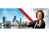 3 concert tickets for Andre Rieu in London - Wembley on 23/12/17 at the SSE Arena