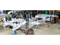Landrover Defender and Discovery Galvanised Chassis