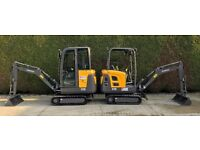 Mini Digger Hire, Plant & Tool Hire - Pocklington, Market Weighton, Howden & surrounding areas