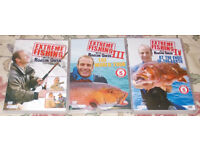 Robson Green Extreme Fishing DVDs - Series 1, 3, 4