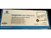 Genuine Konica Minolta Magicolor High Capacity Toner Cartridge - Black