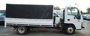 """ISUZU 250 DROP SIDE TRAY WITH 3"""" BALL FOR TOWING GOOSENECK. Bellevue Swan Area Preview"""