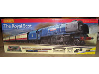 Hornby 00 Gauge Train set 'Royal Scot' .Brand new in box