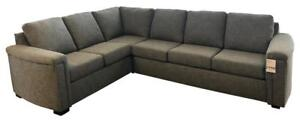 Canadian Made Grey Sectional Sofa  (SF1100)