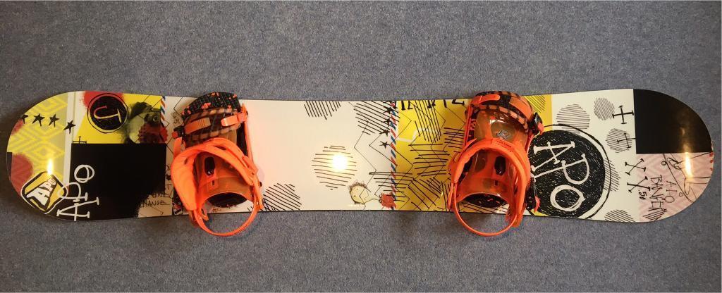 **Brand New** Apo Snowboard & Ride Bindings