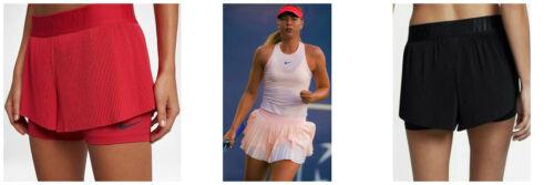 Nwt NIKE Maria Pleated Tennis Skirt Shorts S Small