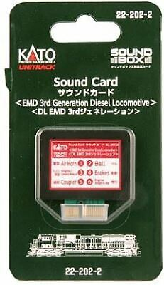 KATO ALL SCALE SOUND CARD SD90/70/43 | BN | 222022, used for sale  Shipping to India
